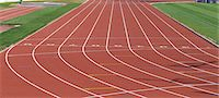 race track (people) - Running Track Stock Photo - Premium Rights-Managednull, Code: 858-06756461