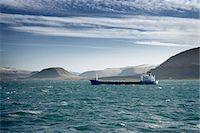 ships at sea - Tanker Ship, Hvalfjordur, Iceland Stock Photo - Premium Royalty-Freenull, Code: 600-06758166