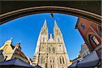 Regensburg Cathedral, Regensburg, Upper Palatinate, Bavaria, Germany