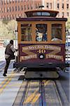 Man Boarding California St. Cable Car, San Francisco, California, USA Stock Photo - Premium Rights-Managed, Artist: Damir Frkovic, Code: 700-06758305