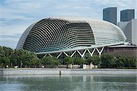 Esplanade Theatres on the Bay in Singapore Stock Photo - Premium Rights-Managednull, Code: 700-06773206