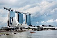 Marina Bay Sands casino and hotel in Singapore Stock Photo - Premium Rights-Managednull, Code: 700-06773209