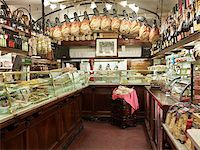 supermarket not people - interior of specialty meat and antipasto shop, Modena, Italy Stock Photo - Premium Rights-Managednull, Code: 700-067733