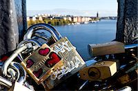 stockholm - Close-up of padlocks Stock Photo - Premium Royalty-Freenull, Code: 6102-06777409