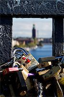 stockholm - Close-up of padlocks Stock Photo - Premium Royalty-Freenull, Code: 6102-06777410