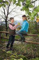 preteen girl boyfriends - Two Children, Girl Sitting On Fence, Bavaria, Germany, Europe Stock Photo - Premium Royalty-Freenull, Code: 6115-06778802