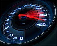 Speedometer, computer artwork. Stock Photo - Premium Royalty-Freenull, Code: 679-06781000