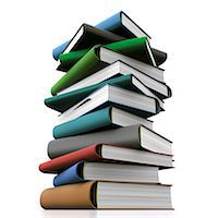 education concept - Books, computer artwork. Stock Photo - Premium Royalty-Freenull, Code: 679-06781090