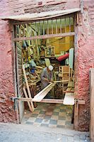 Carpenter in his workshop in the souk of Marrakech, Morocco, North Africa, Africa Stock Photo - Premium Rights-Managednull, Code: 841-06804573