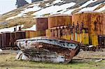 The abandoned Grytviken Whaling Station, South Georgia, South Atlantic Ocean, Polar Regions Stock Photo - Premium Rights-Managed, Artist: Robert Harding Images, Code: 841-06805085