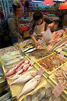 food stalls - Fish Market, Hong Kong, China, Asia Stock Photo - Premium Rights-Managednull, Code: 841-06805327