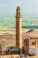 Sehidiye mosque minaret, Mardin, Anatolia, Eastern Turkey, Asia Minor, Eurasia Stock Photo - Premium Rights-Managednull, Code: 841-06805425