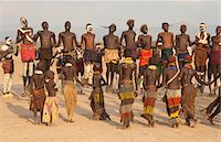 Nyangatom (Bumi) tribal dance ceremony, Omo River Valley, Ethiopia, Africa Stock Photo - Premium Rights-Managednull, Code: 841-06805465