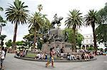 Plaza 9 Julio, the main square in Salta city, Argentina, South America Stock Photo - Premium Rights-Managed, Artist: Robert Harding Images, Code: 841-06806231