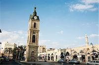 The Clock Tower in Old Jaffa, Tel Aviv, Israel, Middle East Stock Photo - Premium Rights-Managednull, Code: 841-06806283