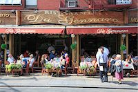 Restaurant, Little Italy, Manhattan, New York City, United States of America, North America Stock Photo - Premium Rights-Managed, Artist: Robert Harding Images, Code: 841-06806960