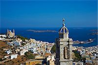 Ermoupoli (Khora), Syros Island, Cyclades, Greek Islands, Greece, Europe Stock Photo - Premium Rights-Managednull, Code: 841-06807595