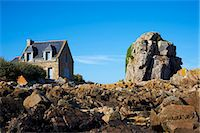 Pors Hir harbour, Cote de Granit Rose, Cotes d'Armor, Brittany, France, Europe Stock Photo - Premium Rights-Managednull, Code: 841-06807628