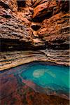 Kermits Pool, Hancock Gorge, Karijini National Park, The Pilbara, Western Australia, Australia Stock Photo - Premium Rights-Managed, Artist: R. Ian Lloyd, Code: 700-06809039