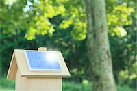 solar power - Miniature wooden house with solar panels Stock Photo - Premium Royalty-Freenull, Code: 622-06809715