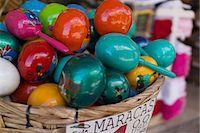Colourful maracas for sale Stock Photo - Premium Royalty-Freenull, Code: 614-06813196
