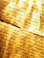 Old handwritten letter Stock Photo - Premium Royalty-Freenull, Code: 614-06813425
