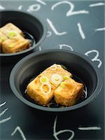 slate - Grilled tofu with soya sauce Stock Photo - Premium Rights-Managednull, Code: 825-06815745