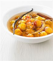 spicy - Spicy stewed mirabelle plums in their syrup Stock Photo - Premium Royalty-Freenull, Code: 652-06819338