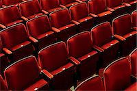 red chair - Europe, England, London, Hammersmith, Lyric Theatre Stock Photo - Premium Rights-Managednull, Code: 862-06825345