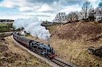 Europe, England, West Yorkshire, Steam Train, Stock Photo - Premium Rights-Managed, Artist: AWL Images, Code: 862-06825390