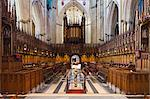 United Kingdom, England, North Yorkshire, York. The Quire at York Minster. Stock Photo - Premium Rights-Managed, Artist: AWL Images, Code: 862-06825400