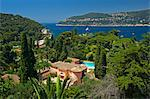 Villa in Saint Jean Cap Ferrat, Cote d'Azur, Alpes-Maritimes, Provence-Alpes-Cote d'Azur, Frankreich Stock Photo - Premium Rights-Managed, Artist: AWL Images, Code: 862-06825514