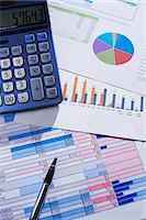 Financial calculations Stock Photo - Premium Royalty-Freenull, Code: 6106-06831246