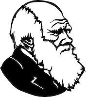Charles Robert Darwin - an English naturalist and scientist Stock Photo - Royalty-Freenull, Code: 400-06848663