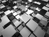 enki (artist) - Abstract background from metallic cubes Stock Photo - Royalty-Free, Artist: Enki, Code: 400-06854673