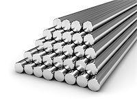 enki (artist) - Round steel bars isolated on white background Stock Photo - Royalty-Freenull, Code: 400-06854740