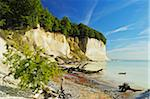Chalk Cliffs and Shoreline, Jasmund National Park, Ruegen Island, Mecklenburg-Vorpommern, Germany, Europe Stock Photo - Premium Royalty-Free, Artist: Jochen Schlenker, Code: 600-06892719