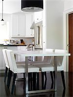 Open Concept Dining Room and Kitchen, Toronto, Ontario, Canada Stock Photo - Premium Royalty-Freenull, Code: 600-06895087