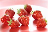 strawberries - Several strawberries Stock Photo - Premium Royalty-Freenull, Code: 659-06901243