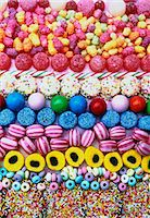 rows of coloured boiled sweets and candies Stock Photo - Premium Royalty-Freenull, Code: 659-06903164