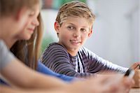 Students in a classroom Stock Photo - Premium Royalty-Freenull, Code: 6108-06907046