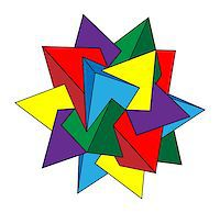 Abstract Design With Geometric Shapes Optical Illusion Illustration Stock Photo - Royalty-Freenull, Code: 400-06911783