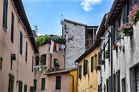 Lucca, Tuscany, Italy. old Streets Stock Photo - Royalty-Freenull, Code: 400-06919628