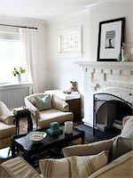 Home Interior, Living Room, Toronto, Ontario, Canada Stock Photo - Premium Royalty-Freenull, Code: 600-06935029
