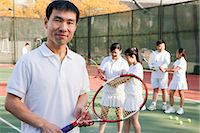 preteens pictures older men - Tennis coach, portrait Stock Photo - Premium Royalty-Freenull, Code: 6116-06939313