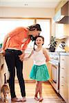 Mother and daughter in a kitchen. Stock Photo - Premium Rights-Managed, Artist: Boone Rodriguez, Code: 700-06943756