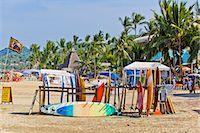 Racks of surfboards on beach at sayulita Stock Photo - Premium Royalty-Freenull, Code: 673-06964710
