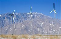 Wind power at Palm Springs, CA Stock Photo - Premium Royalty-Freenull, Code: 6106-06983901