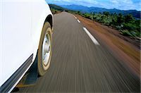 Car Driving on Grand Terre Island Stock Photo - Premium Royalty-Freenull, Code: 6106-06990535