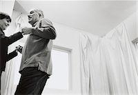 Mature Couple Dancing Stock Photo - Premium Royalty-Freenull, Code: 6106-06991055